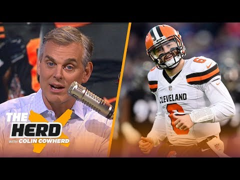 Colin Cowherd Expectations will doom Browns Steelers will ultimately win division NFL THE HERD