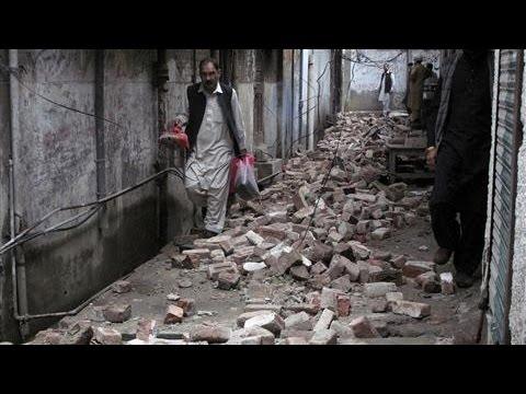 7.5-Magnitude Earthquake Hits Afghanistan, Pakistan