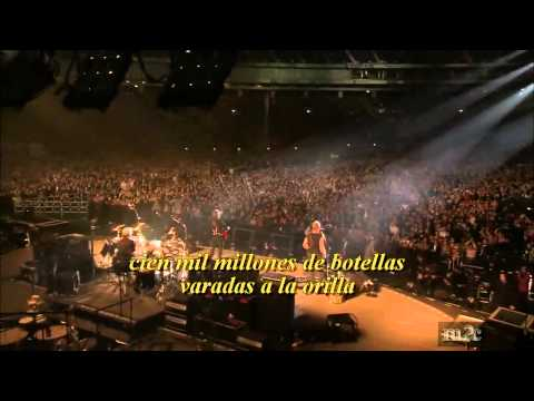 The Police Message In A Bottle live subtitulos español