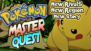 Pokemon Master Quest - A GBA Game With New Rivals,New Region+Story!