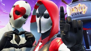 WILD CARD'S NEW GIRLFRIEND! | A Fortnite Film (The Ace and Wild Card Love Story)