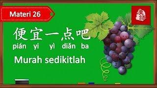 Belajar Menawar Harga Dalam Bahasa Mandarin