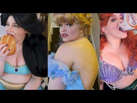 If Disney Princesses Were Fat...