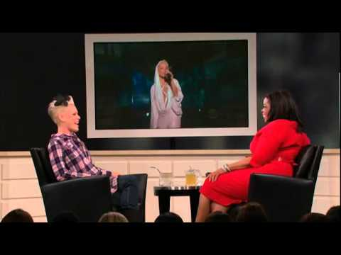 P nk on Oprah After the Show 2510