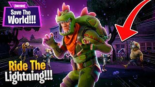 RIDE THE LIGHTNING!! | Fortnite: Save The World PvE [Ep 4]