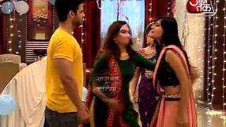 Who is slapping whom in Sasural Simar Ka?