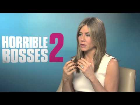 Jennifer Aniston Talks To Kevin Hughes About Horrible Bosses 2