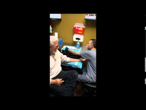 Xxx Mp4 80 Year Old Grandpa Gets Tattooed To Support Gay Grandson 3gp Sex