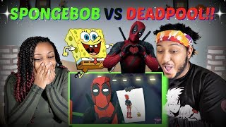 "Verbalase ""Spongebob vs Deadpool"" Cartoon Beatbox Battles REACTION!!"