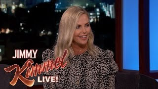 Charlize Theron Kissed Guillermo at His Son