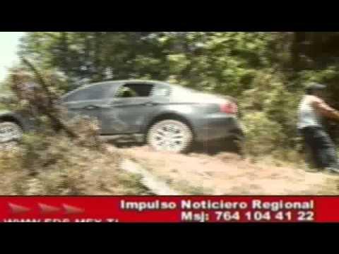 IMAGENES DE SECUESTRO DE AYER EN HUAUCHINANGO 31 MAYO 2012