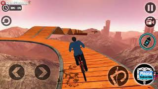 Impossible BMX Bicycle Stunts / Race Simulator / Bicycle Driving / Android Gameplay Video #4