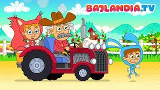 Piosenki dla dzieci po polsku - Pan McDonald farmę miał - Teledysk HD