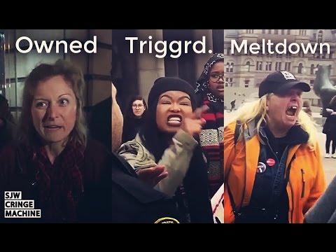 Xxx Mp4 SJW Cringe Compilation 33 Women S March And Anti Trump SJW CRINGE MACHINE 3gp Sex