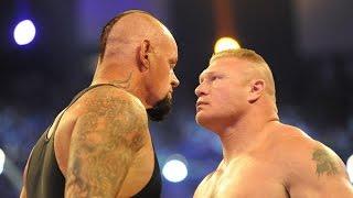 Undertaker vs Brock Lesner - WWE Wrestlemania 30 Brock Lesnar vr The Undertaker
