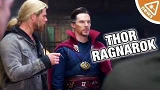 What Does Doctor Strange's Cameo Mean for Thor Ragnarok? (Nerdist News w/ Jessica Chobot)