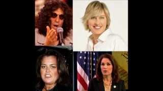 Howard Stern Discusses Rosie O'Donnell, Meeting Ellen Degeneres & Responds to Bachmann