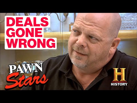 Pawn Stars Deals Gone Wrong 5 Angry and Disappointed Sellers History