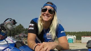 Kiara Fontanesi World Motocross Women Champion  in person 2017