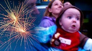 Funny Babies and Toddlers Scared by Fireworks - TRY NOT TO LAUGH Compilation 2018