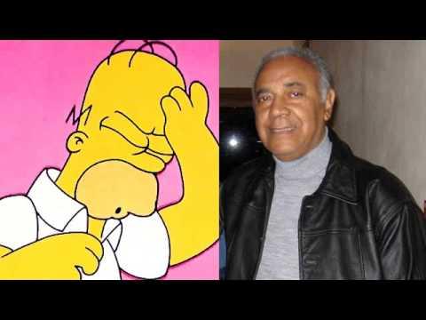 Waldyr Sant Anna ao voltar a dublar Homer Simpson 2004