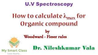 λmax for Organic compound- UV spectroscopy