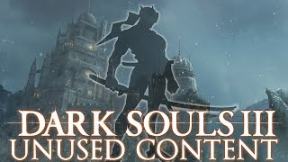 Dark Souls 3 Unused Content ►SNEAKING STEALTH ANIMATIONS!