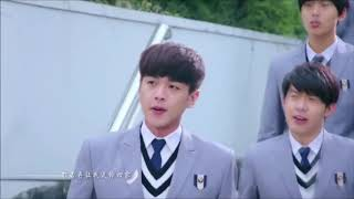 Zara paas aao • cute school love story    Chinese mix Hindi song    K-Records