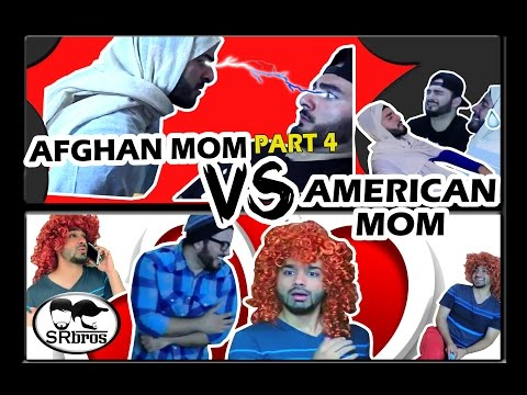 Afghan Mom VS American Mom Part 4!!