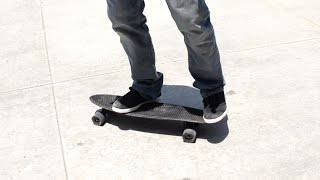 HOW TO RIDE A PENNY SKATEBOARD FOR BEGINNERS