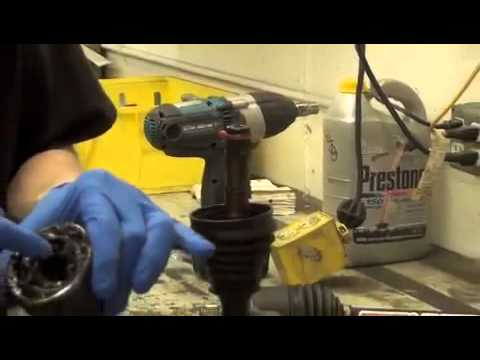UTV CV joint removal and installation