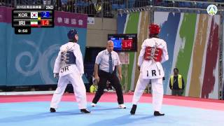8th Asian Junior Taekwondo Championships. Final male -55