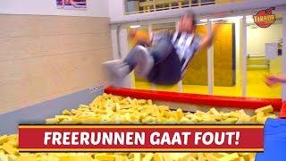 FREERUNNEN GAAT FOUT!
