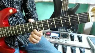hume aur jeene ki chahat na hot guitar by ajit