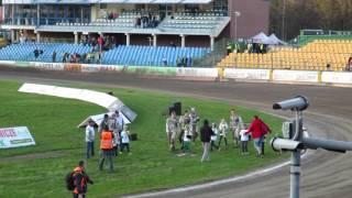 Ekantor.pl Falubaz Zielona Góra - Row Rybnik 46:43 - Zawodnicy po meczu - 24.04.2016