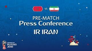FIFA World Cup™ 2018: Morocco - IR Iran: IR Iran Pre-Match Press Conference