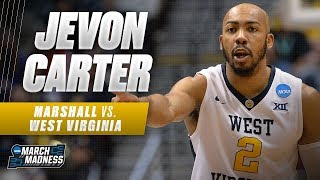 West Virginia's Jevon Carter could not be stopped in the Mountaineers' victory