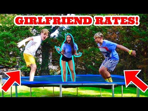 GIRLFRIEND RATES OUR TRAMPOLINE FLIPS Soloflow VS Jack Doherty