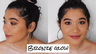 Doing my SISTERS makeup - BRONZED GLOW | Lailani Sauaga