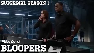 Supergirl Season One Bloopers & Gag Reel