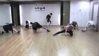 BTS DANGER DANCE PRACTICE MIRRORED +50% SLOWMOTION