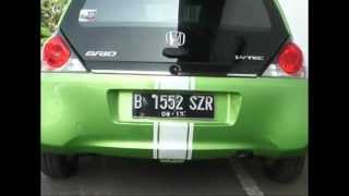 Honda Brio Indonesia Test Drive