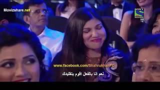 تقليد شاروخان اغاني سلمان خان في حفل الجوائز FilmFare 2016 مترجم 😂😂😂