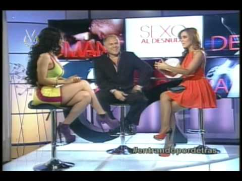 Diosa Canales sobre el Sexo Anal Sexo al Desnudo Venevision
