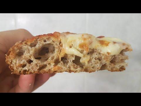 PIZZA INTEGRALE SENZA BISOGNO DI IMPASTARE www.mauro.pizza
