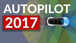 TESLAS KAMPFANSAGE - Selbstfahrende Autos 2017