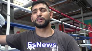 Amir Khan Breaks Down Canelo vs Chavez Jr Who He Thinks Will Win - EsNews Boxing