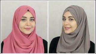 2 New Chiffon Hijab Tutorials   Muslim Queens by Mona