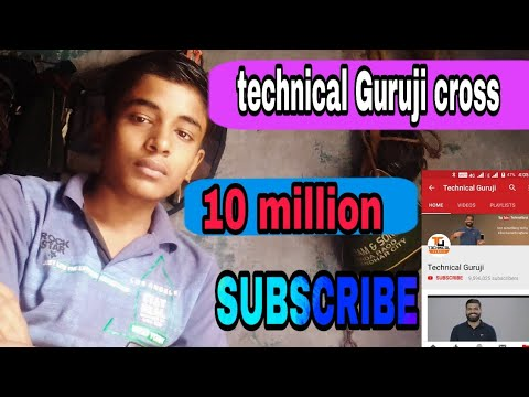 Xxx Mp4 Technical Guruji Cross 10 Million Subscriber BF Video Mai Dekhiye Is Video Mein From Hindi Technical 3gp Sex