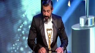 حفل تكريم وشوشة للأفضل في 2017 | لحظة تكريم الفنان ياسر جلال كأفضل ممثل دراما في 2017